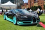Bugatti Veyron in Black-M at London Concours 2019.