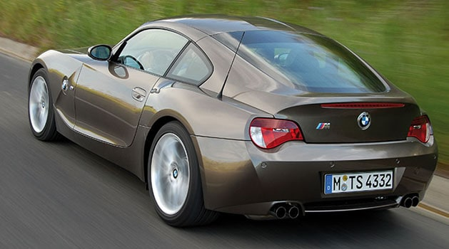 BMW Z4 M Coupe/Roadster 'E85/E86' (2006) driving on the road.