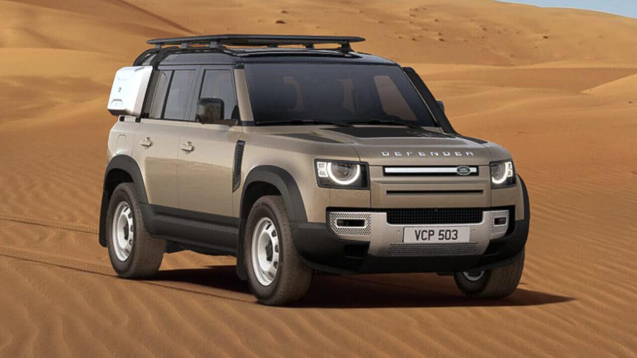 Gondwana Stone Defender 110 SE Front