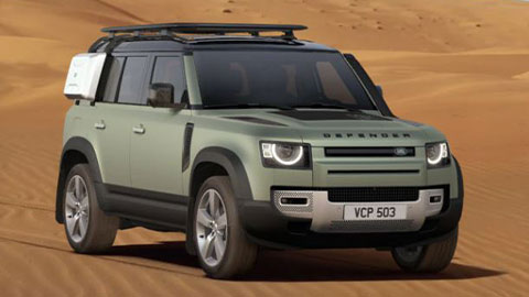 Top 5 Land Rover Configurations