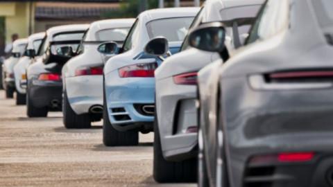 8 Generations of Porsche 911