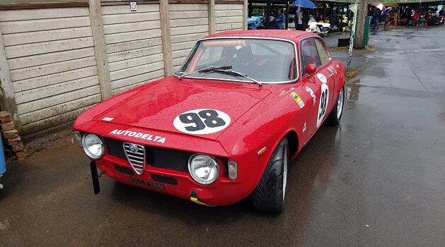 Alfa Romeo Giulia GT Veloce at Classic Nostalgia, Shelsley Walsh.