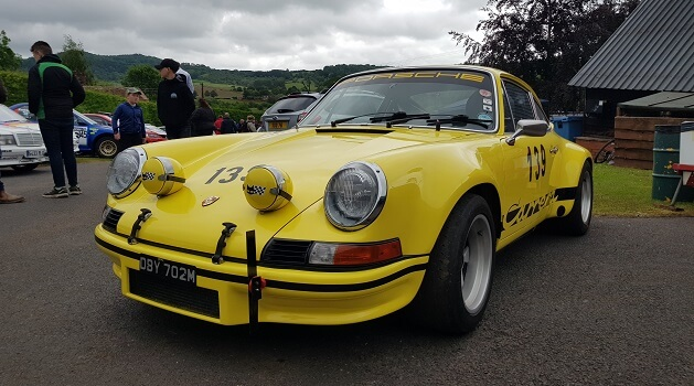 Porsche 911 Carrera Coupe at Classic Nostalgia, Shelsley Walsh.