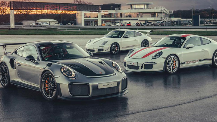 Porsche 911 Trio