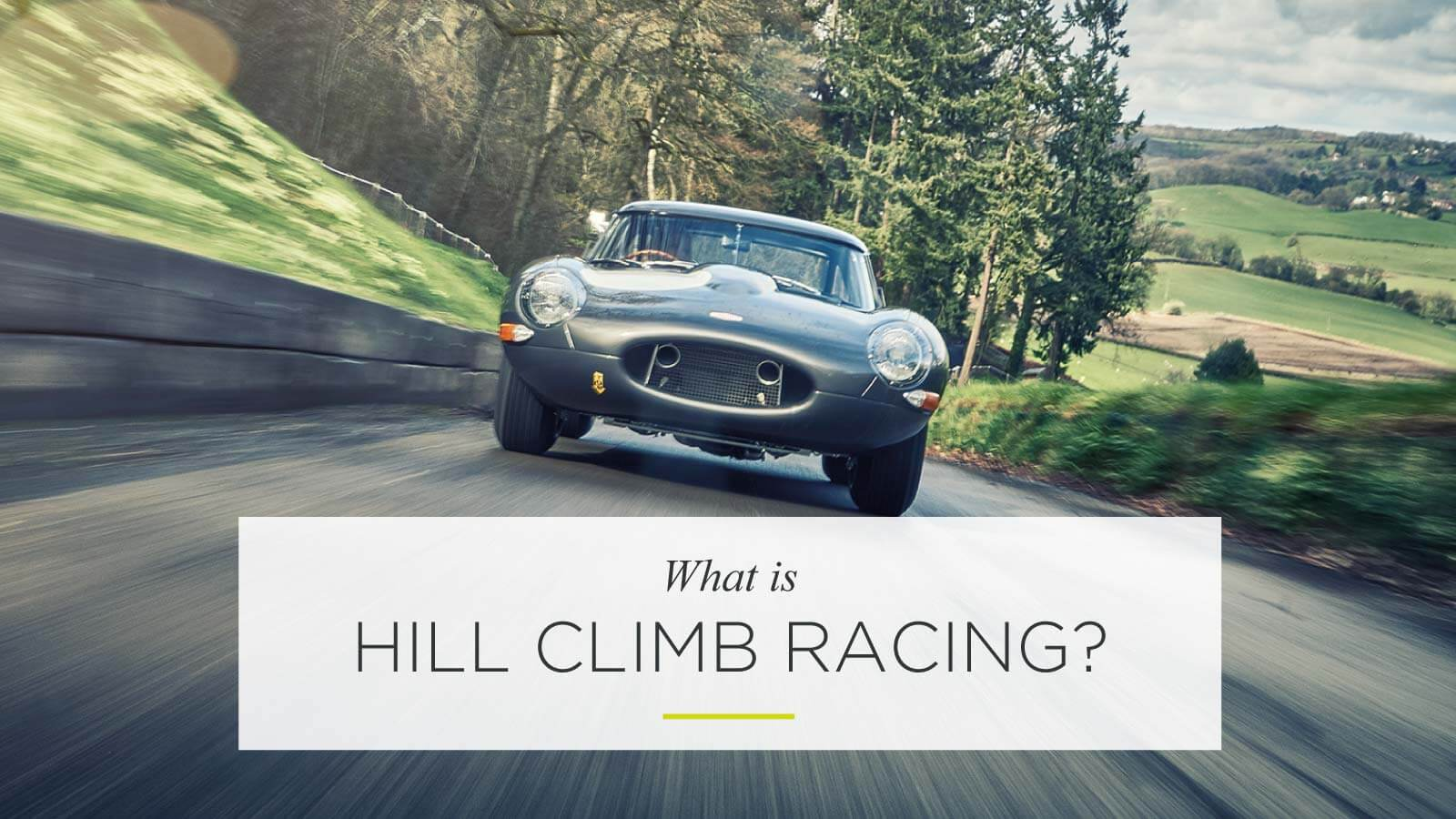 What is Hill Climb Racing?