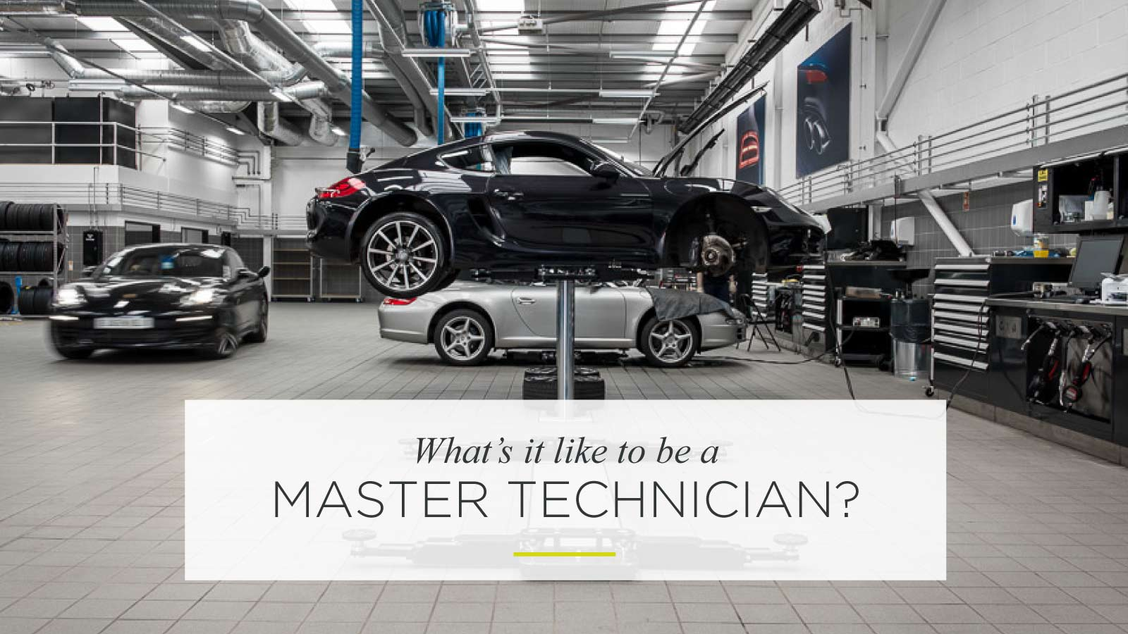 What's it like to be a master technician