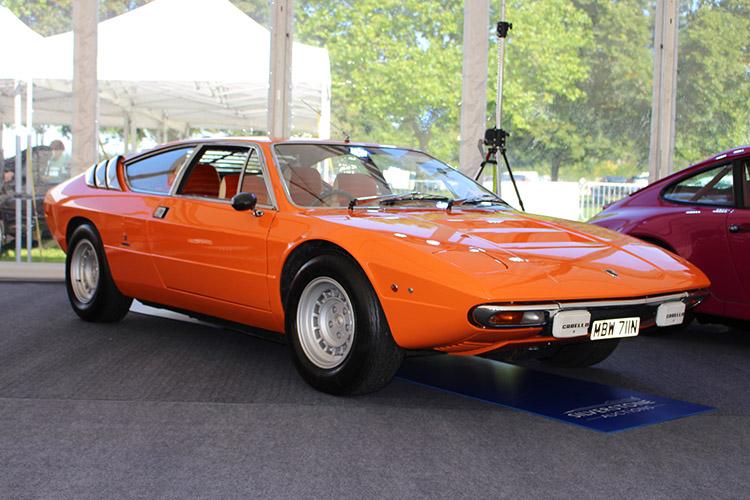 Orange supercar.