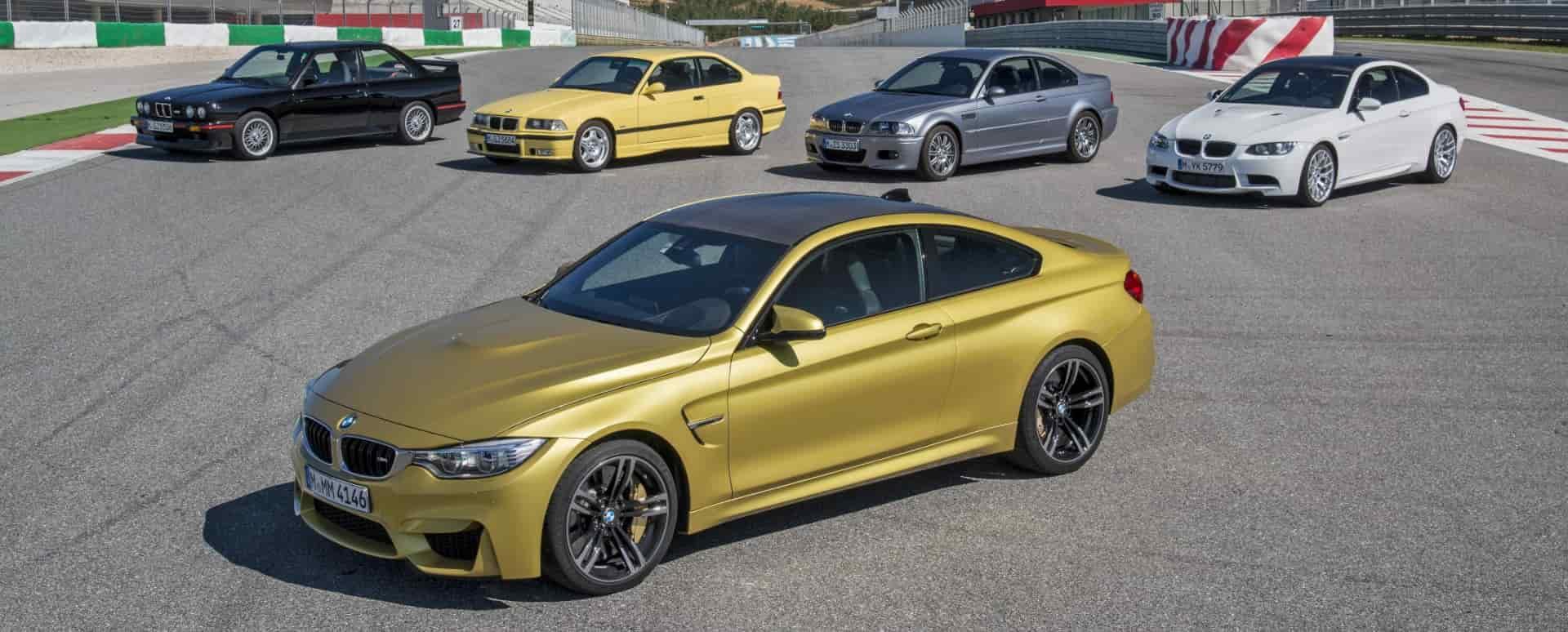 BMW M Cars: On Track
