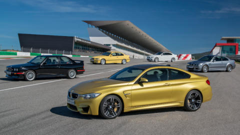 BMW M Cars: On Track