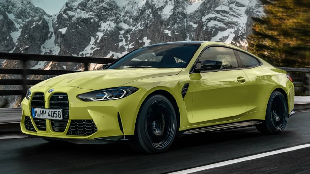 BMW G82 M4 Competition