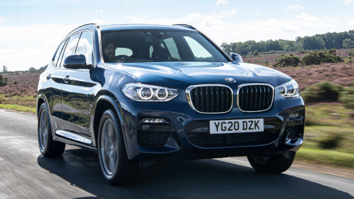 BMW X3: Country Road