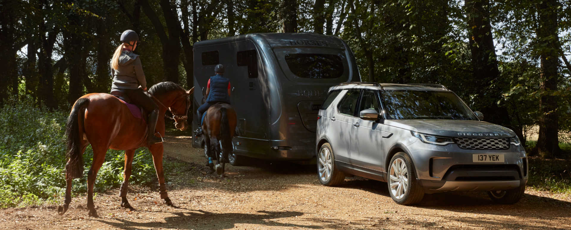 Land Rover Discovery: Towing a Horsebox