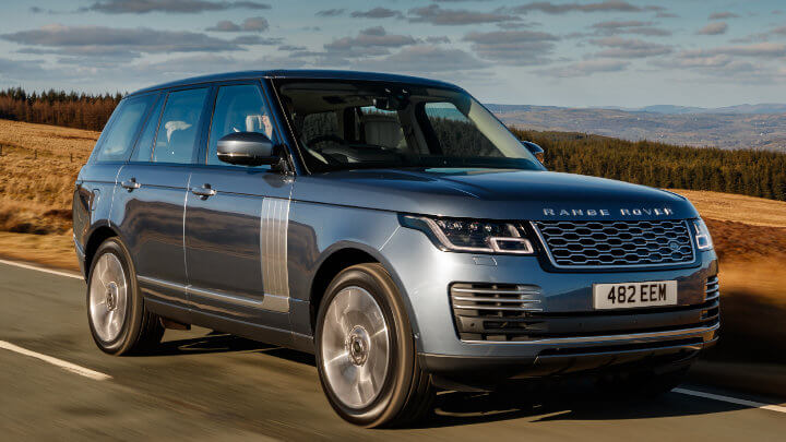 Land Rover Range Rover: Country Road Driving