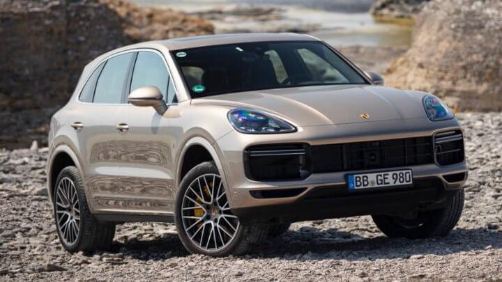 Porsche Cayenne: Off-Road