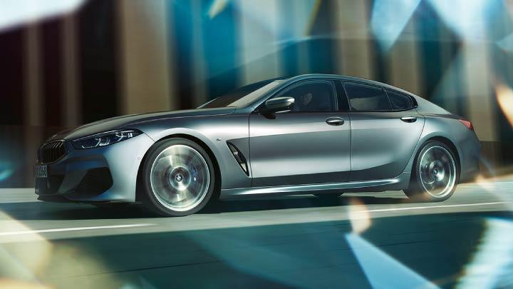 Silver BMW 8 Series