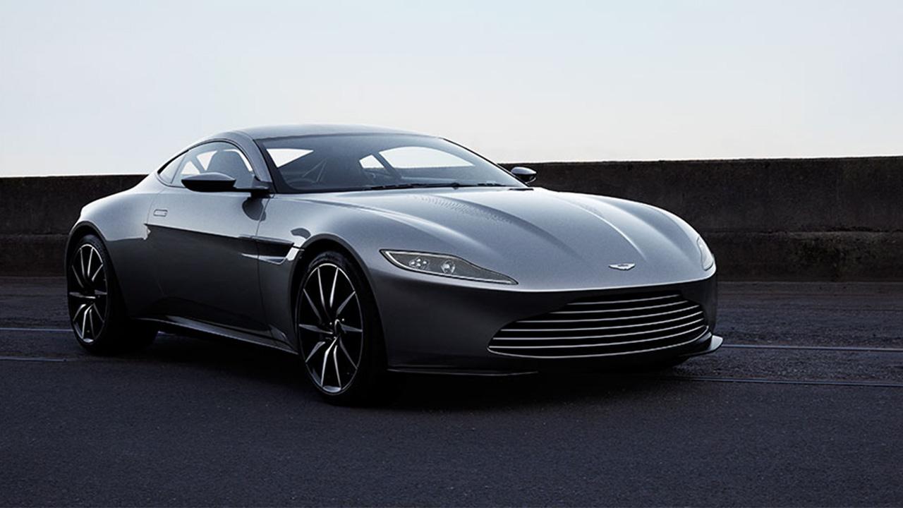 Aston Martin DB10, studio shot