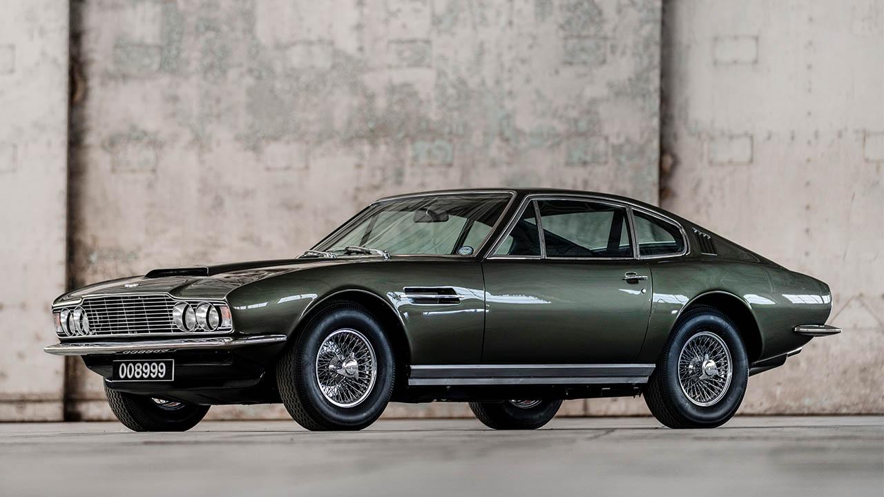 Green 1969 Aston Martin DBS