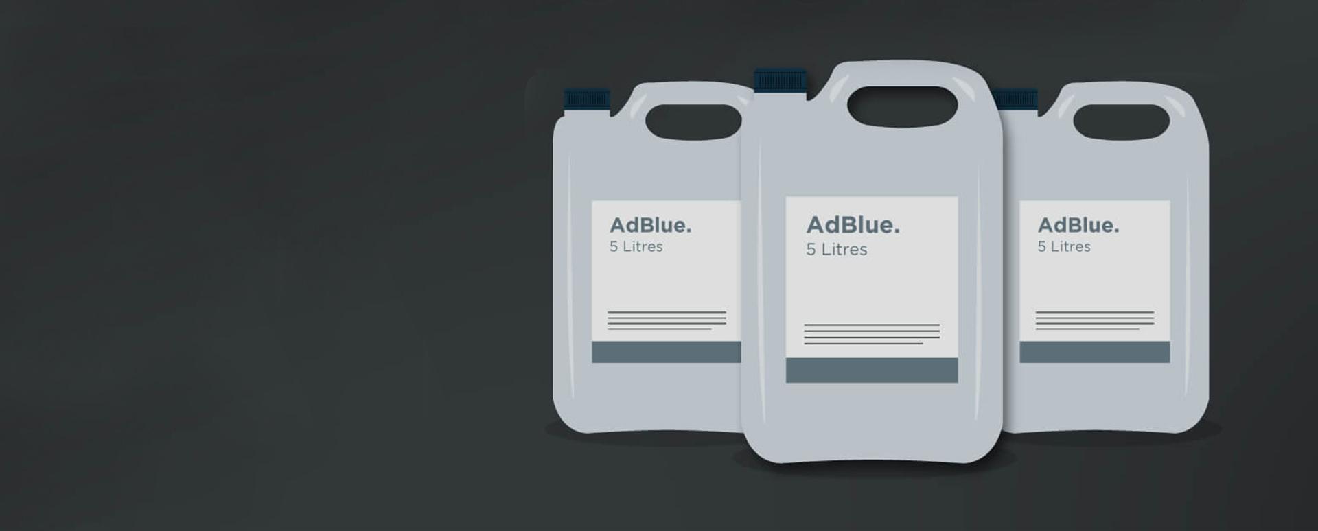 AdBlue Bottles graphic