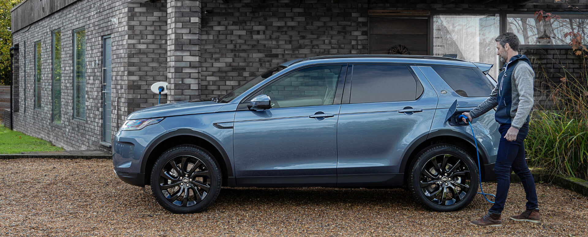 Land Rover Discovery Sport PHEV Charging