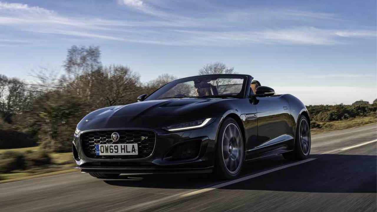jaguar f-type, driving