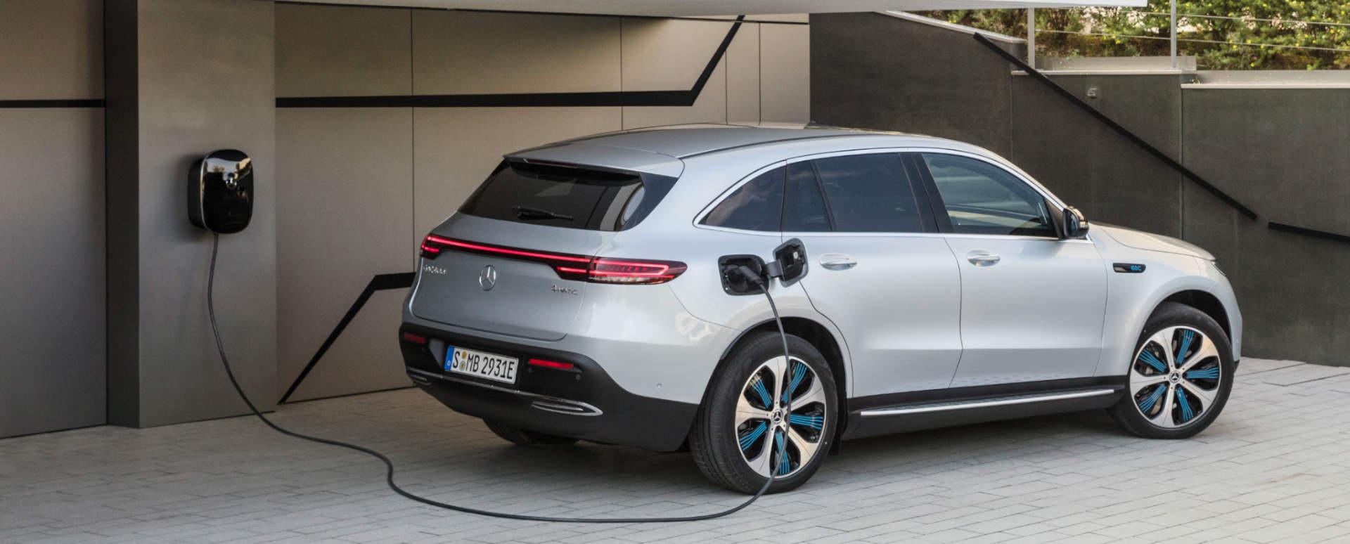 Mercedes-Benz EQC: Charging