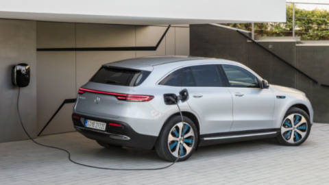 Mercedes-Benz EQC: Charging