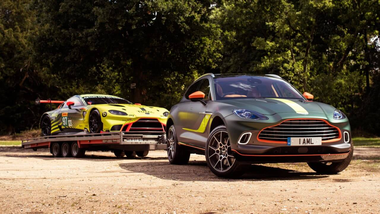 Aston Martin DBX Towing