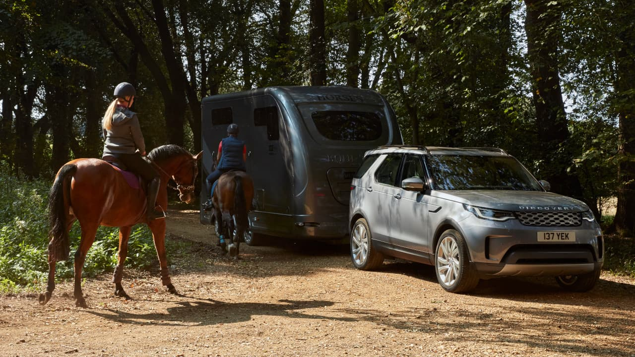Land Rover Discovery Towing