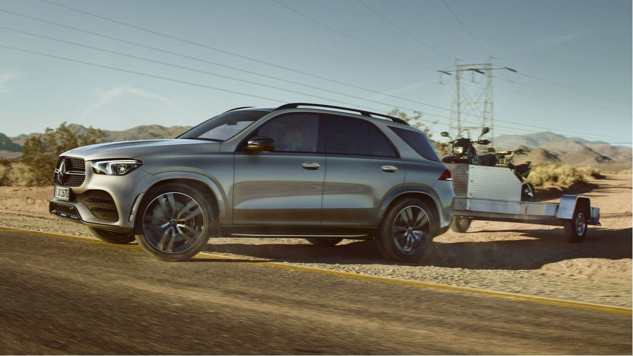 Mercedes-Benz GLE Towing
