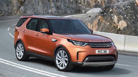 Orange Land Rover Discovery