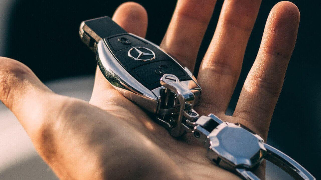 Mercedes-Benz Car Key