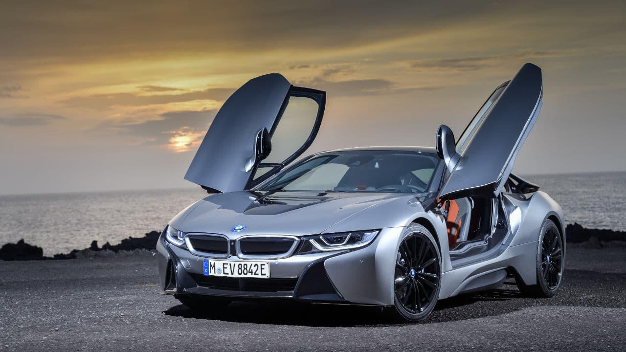 BMW i8 Hybrid Doors Open
