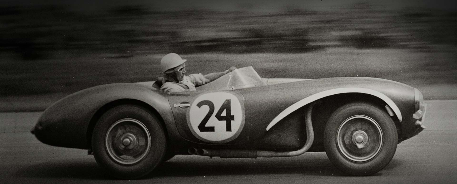 aston martin db3s, racing