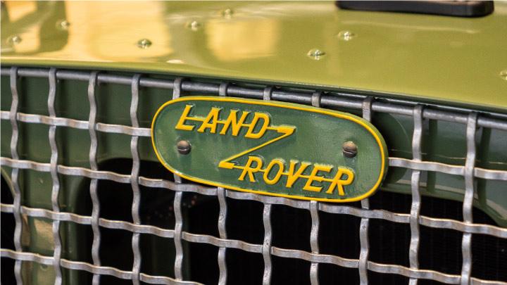 Land Rover Badge
