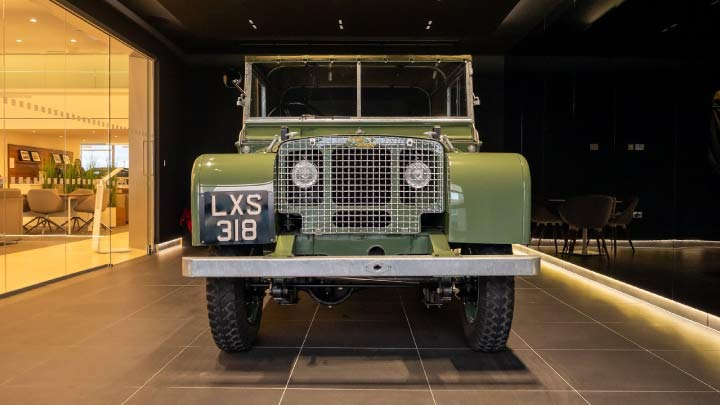Land Rover Series I Grill