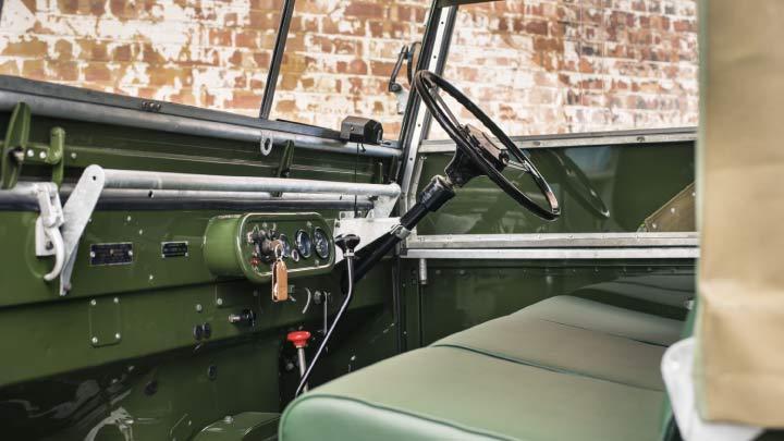 Land Rover Series I Interior