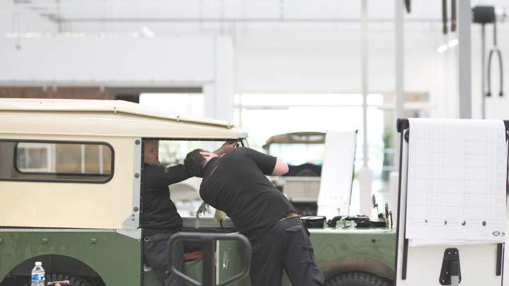 Land Rover Series I Restoration