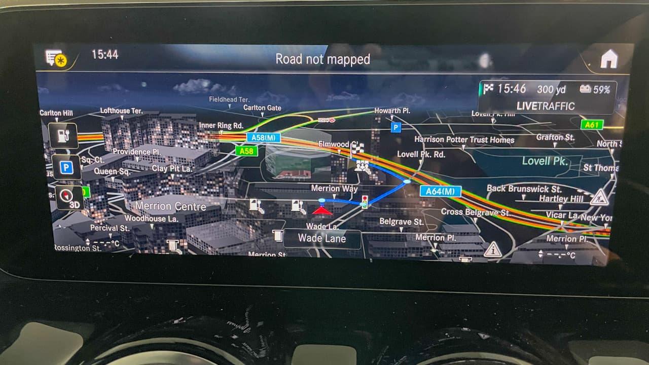 Mercedes-Benz EQA Navigation