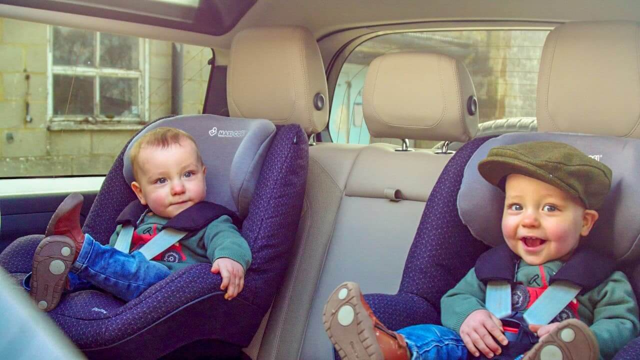 Child Car Seats in Defender