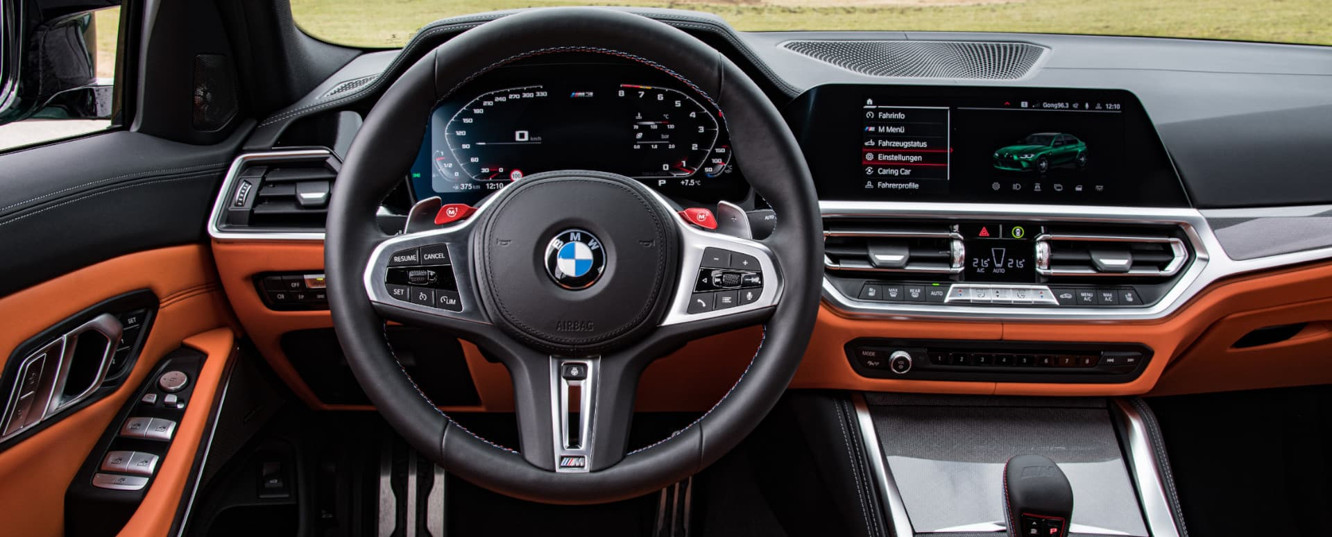 BMW M3 Competition Interior Large