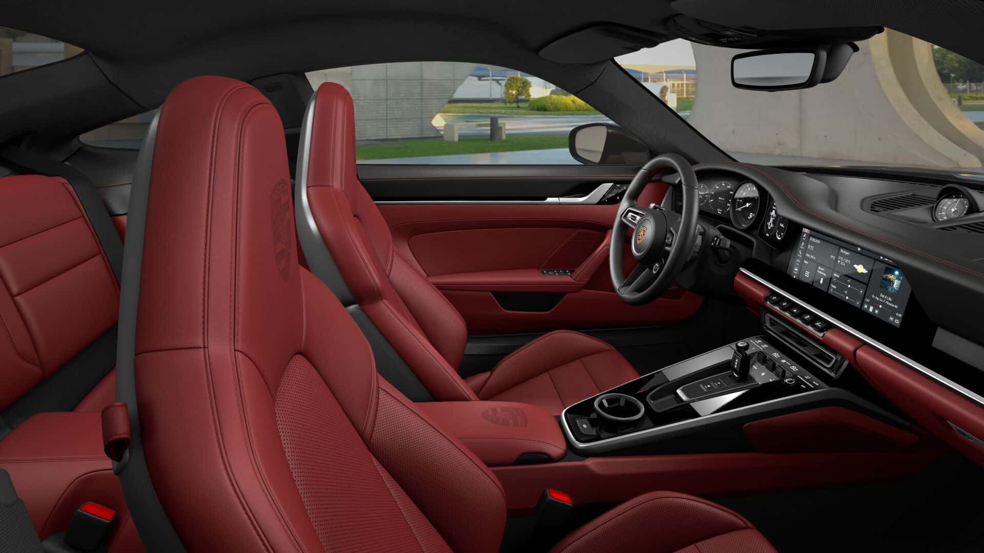 Porsche 911 992 Interior