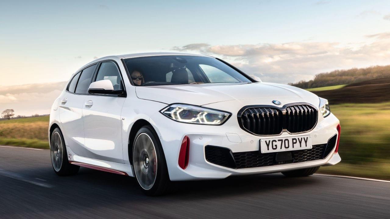 White BMW 1 Series 128ti