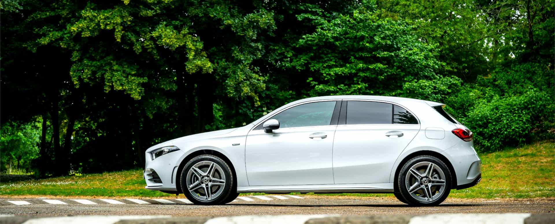 Mercedes-Benz A-Class, Parked