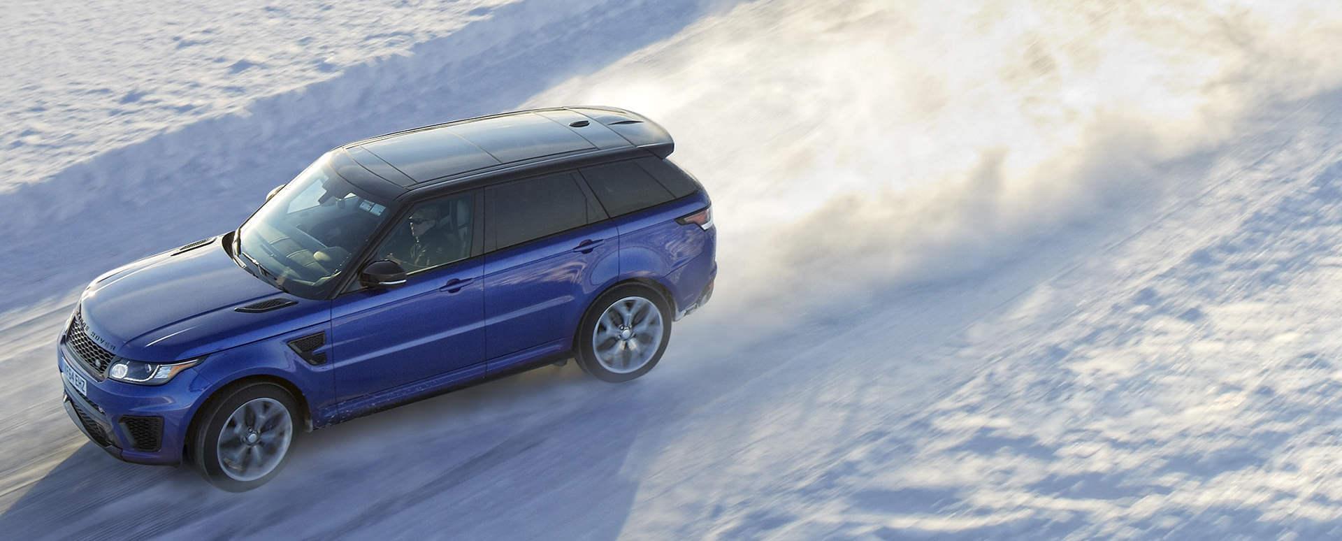 Range Rover Sport: Snow Driving