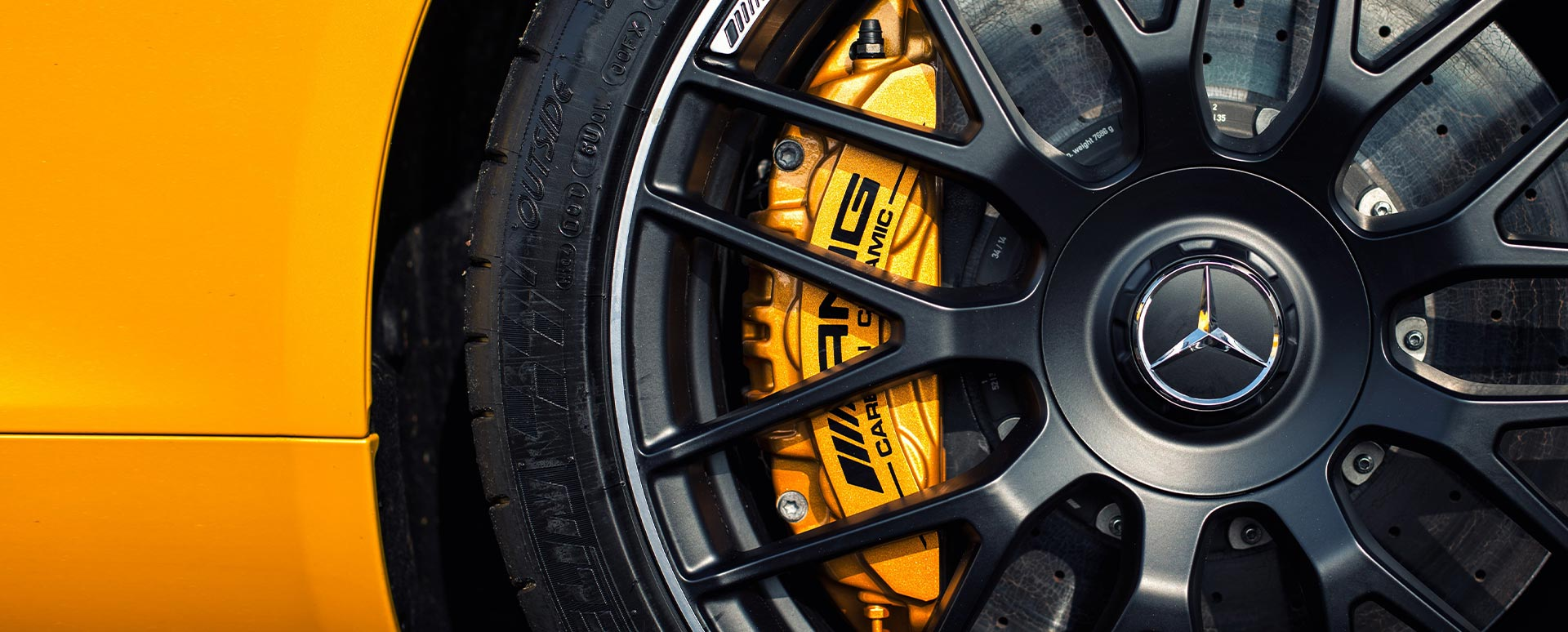Mercedes-AMG GT Carbon Ceramic brakes