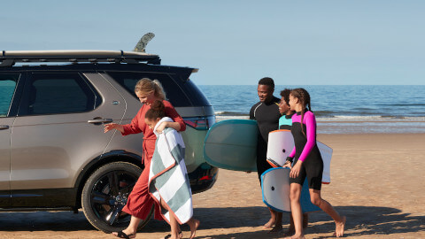 Three Child Seats Land Rover Discovery