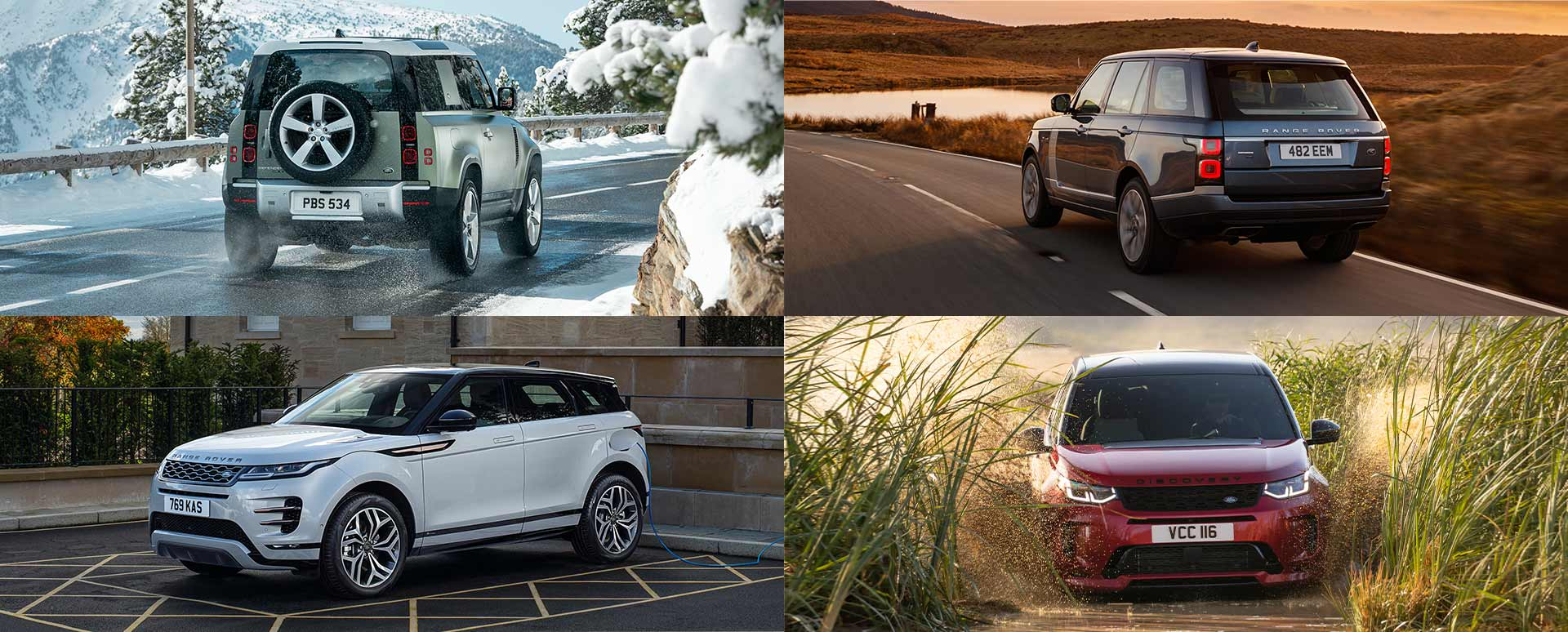 Land Rover Collage