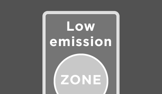 Low Emission Zone sign.