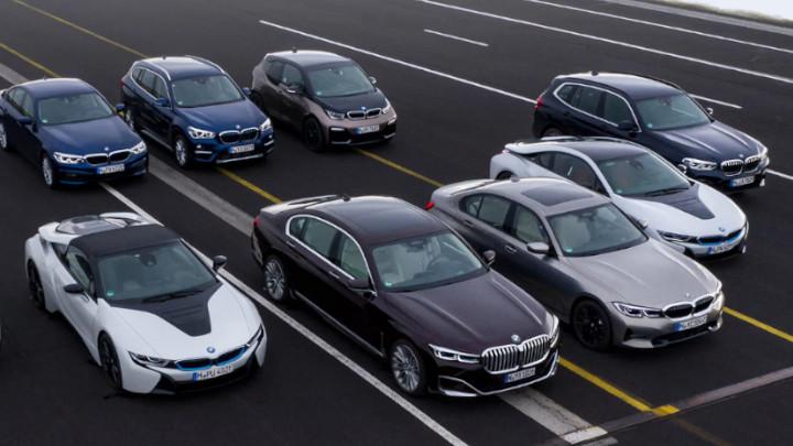 BMW Hybrid and Electric Range