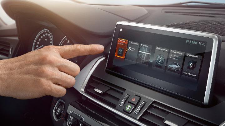 BMW 2 Series Active Tourer Infotainment System